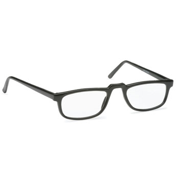 Hilco Readers Black Half-Eye Reader Readers