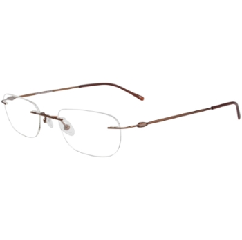 3 Piece Drill Mounts Rimless Eyeglasses - Go-Optic.com
