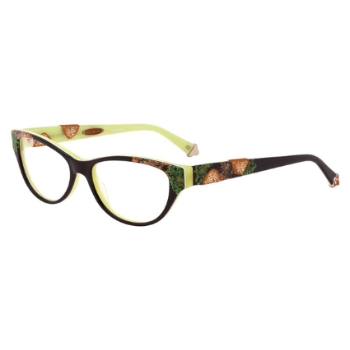 Coco Song Black Blade Eyeglasses