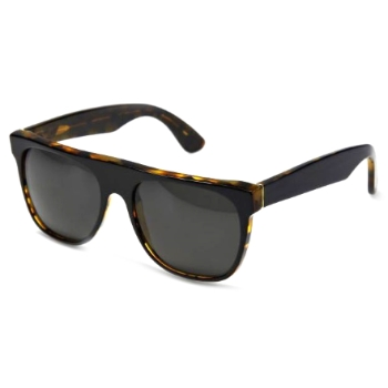 Super Flat Top Dark Havana Black 447 Sunglasses