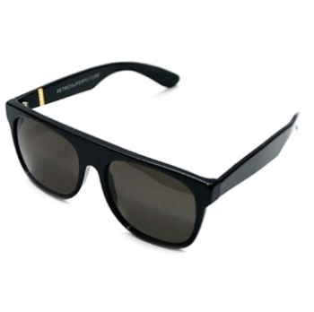 Super Flat Top IFTB 036 Black Sunglasses