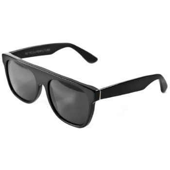 Super Flat Top Matte Black 184 Sunglasses