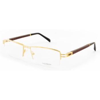 Gold & Wood Cosmic 02.01 Eyeglasses