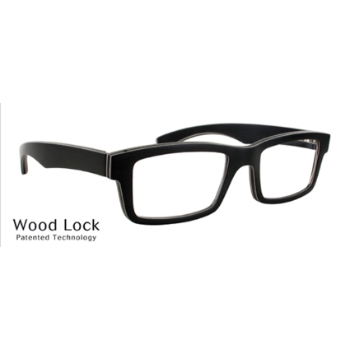 Gold & Wood Alpha 51 Eyeglasses