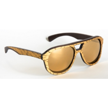 Gold & Wood Copa Sunglasses