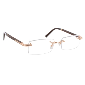 Gold & Wood D06.3 Eyeglasses