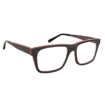 Gold & Wood Nash Eyeglasses