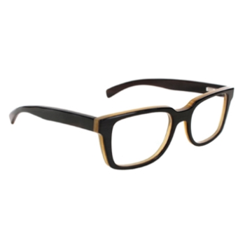 Gold & Wood Odeon Prestige Eyeglasses