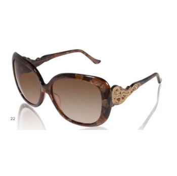 Judith Leiber JL1637SG Arabesque Sunglasses