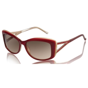 Judith Leiber JL1580SG Channel Sunglasses