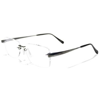 Kazuo Kawasaki Womens Rimless Eyeglasses - Go-Optic.com