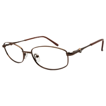 Club 54 Brandy Eyeglasses