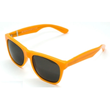 Super Basic Clear Orange 123 Sunglasses