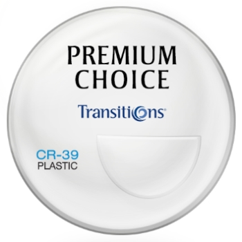 Premium Choice Transitions® Signature VII™ [Gray or Brown] Plastic CR-39 Bi-Focal FT-28 Lenses