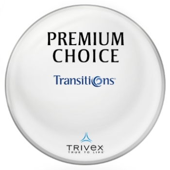 Premium Choice Transitions® SIGNATURE VII [Gray] Trivex Lenses