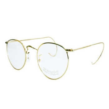 Savile Row 14KT Panto w/Cable Temples Eyeglasses