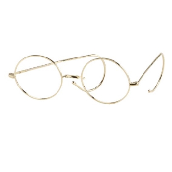 Savile Row 18KT Warwick Saddle Bridge (Cable Temples) Eyeglasses