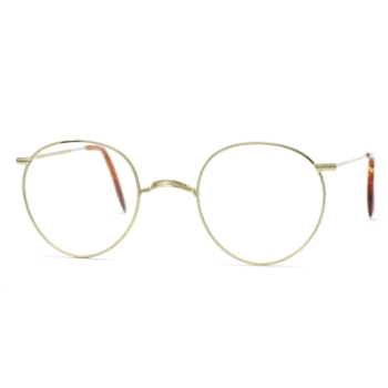 Savile Row 18KT Windsor (Skull Temples) Eyeglasses