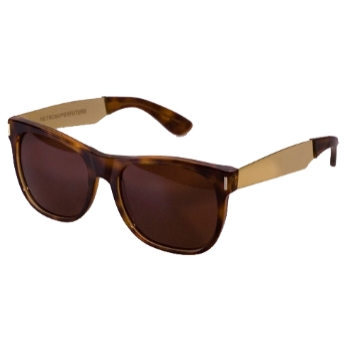 Super Basic Havana Gold Legs 364 Sunglasses