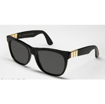 Super Basic Classic Black w/ Gold Decocation NSJ Sunglasses