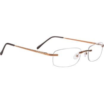 Mens Rimless Mount Eyeglasses - Highest Price - Go-Optic.com