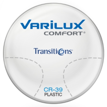 Varilux Varilux Comfort Transitions® SIGNATURE VII - [Brown] Plastic CR-39 Progressive Lenses