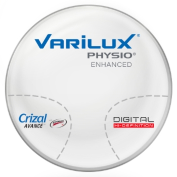Varilux Varilux Physio Enhanced Plastic CR-39 Progressives w/ Crizal Avancé AR Lenses