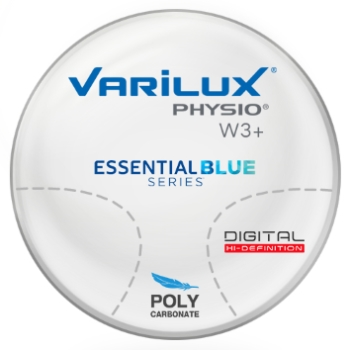 Varilux Varilux Physio W3+ Essential Blue Series Polycarbonate Progressive Lenses