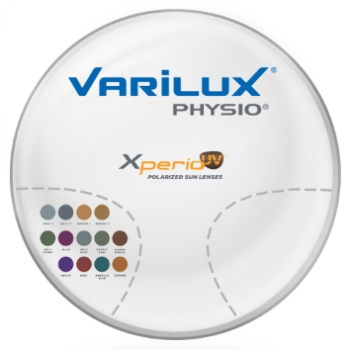 Varilux Varilux Physio Xperio W/Back side AR coating Polarized [Brown] Polycarbonate Progressive Lenses