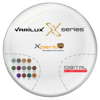 Varilux Varilux X Series™ Xperio™ Polarized [Gray or Brown] Polycarbonate Progressive Lenses