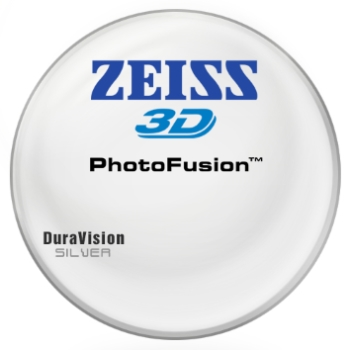 Zeiss Zeiss® 3D PhotoFusion® [Gray or Brown] CR-39 W/ Zeiss DuraVision Silver AR Lenses