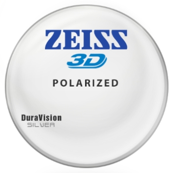 Zeiss Zeiss® 3D Polycarbonate Polarized [Gray or Brown] W/ Zeiss DuraVision Silver AR Lenses