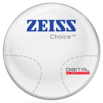 Zeiss Zeiss® Choice™ Progressive Plastic CR-39 Lenses