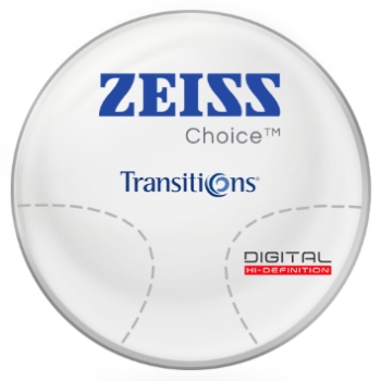 Zeiss Zeiss® Choice™ Transitions® SIGNATURE VII - [Gray or Brown] Polycarbonate Progressive Lenses