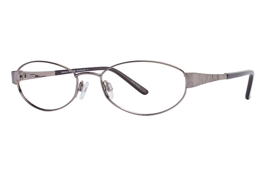 Easyclip EC123 w/ Magnetic Clip-On Eyeglasses in Easyclip EC123 w/ Magnetic Clip-On Eyeglasses