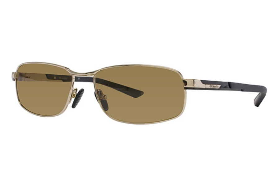 Columbia Bryce Sunglasses in C03 Shiny Gold/Shiny Black