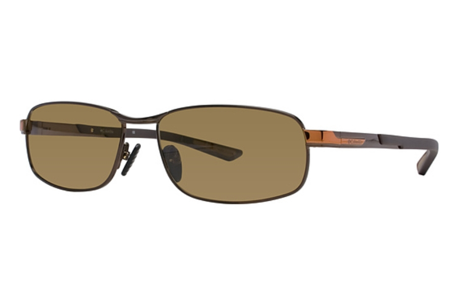 Columbia Bryce Sunglasses in C01 Shiny Chocolate Brown/Cedar