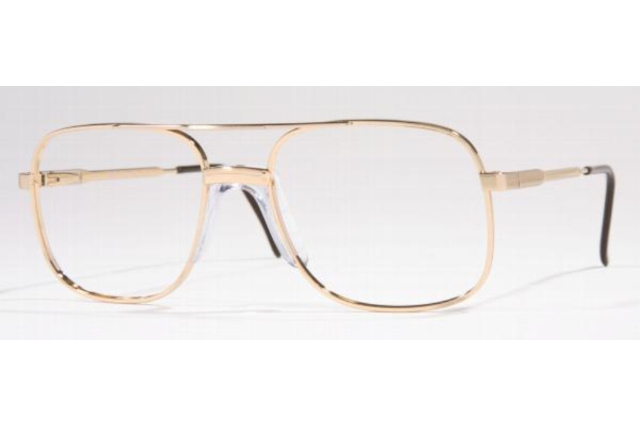 Luxottica LU 1020U Ricardo Eyeglasses in Gold (GP)