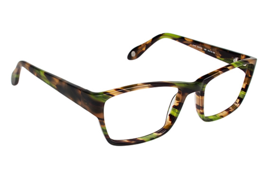 FYSH UK Collection FYSH 3505 Eyeglasses in 286 Green Havana