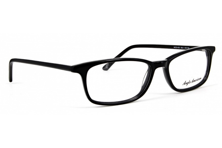 Anglo American 403E Eyeglasses in BLK