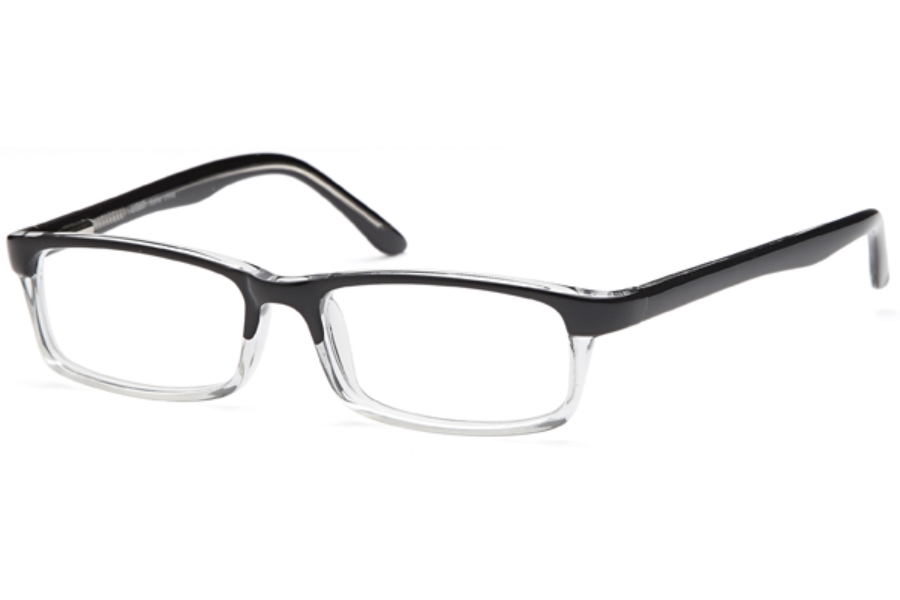 4U US 60 Eyeglasses in Black