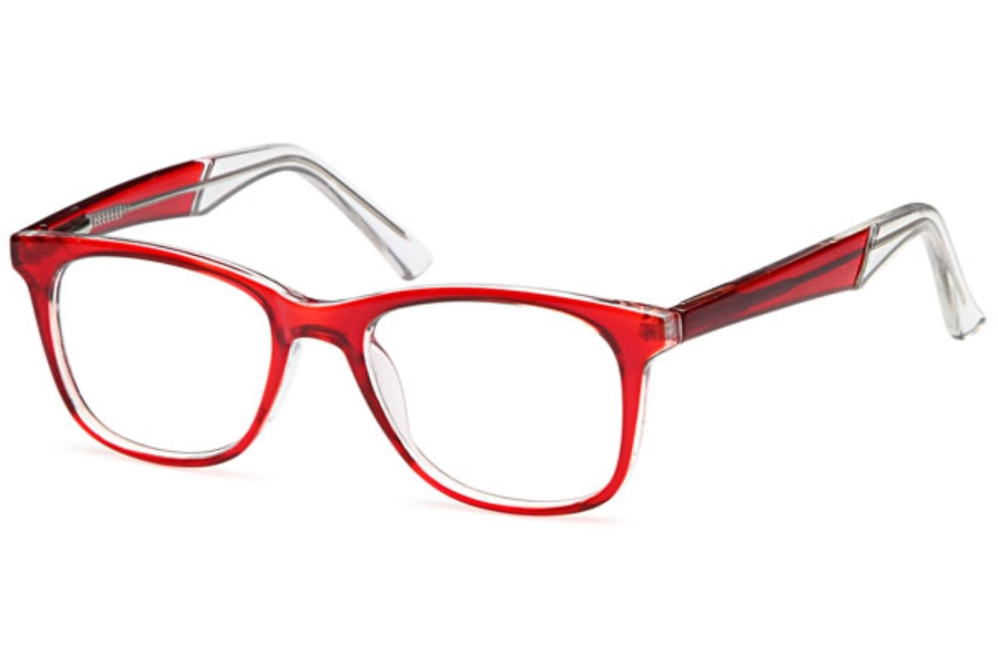 4U US 78 Eyeglasses in Red