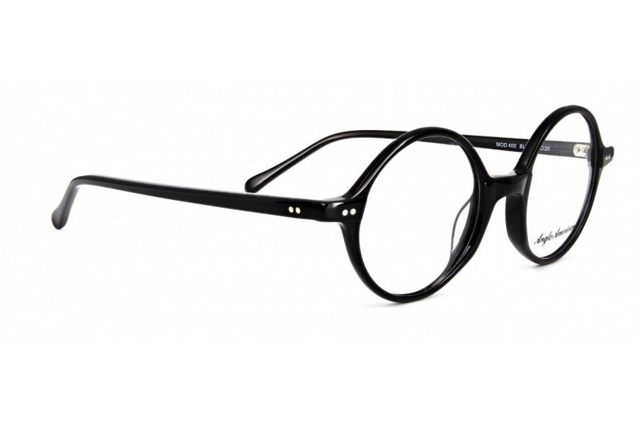 Anglo American 400 Eyeglasses in BLK - Black