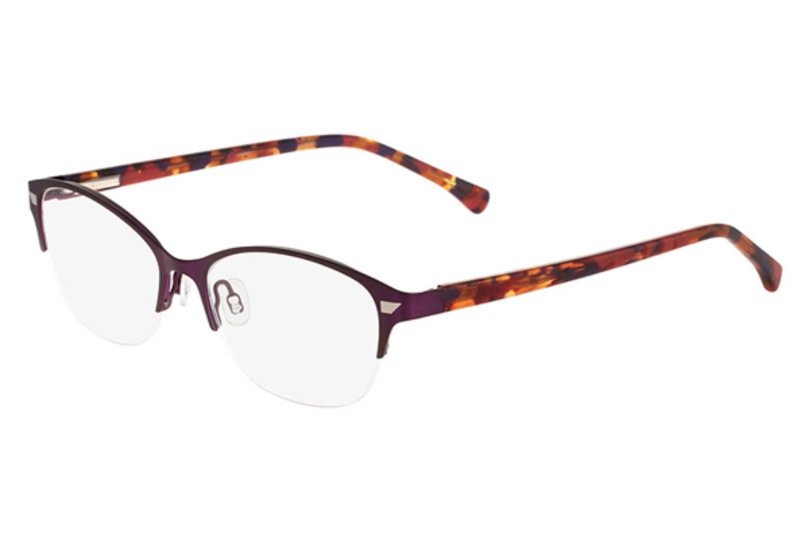 altair eyewear a5033 eyeglasses in plum