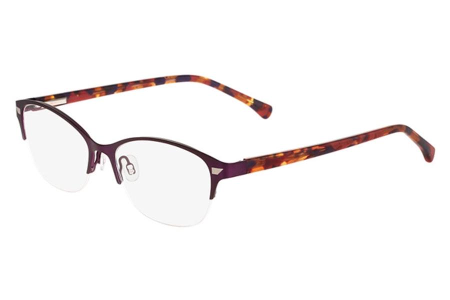 altair eyewear a5033 eyeglasses in plum