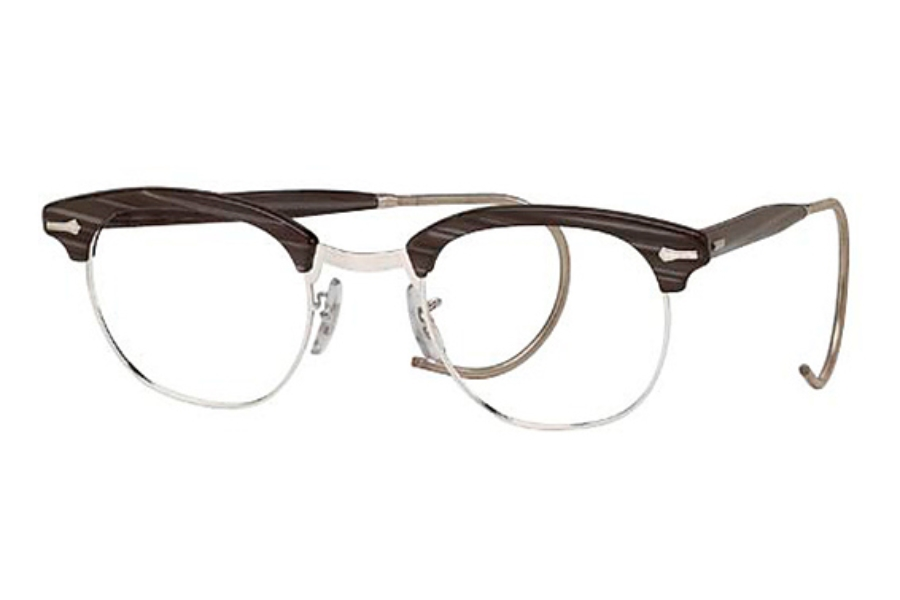 Shuron Ronsir Zyl w/ Cable Temples Eyeglasses | FREE Shipping