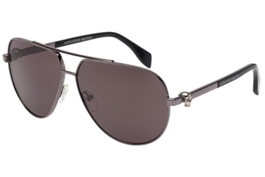 Alexander McQueen AM0018S Sonnenbrille Schwarz 001 63mm ykZ2H44S