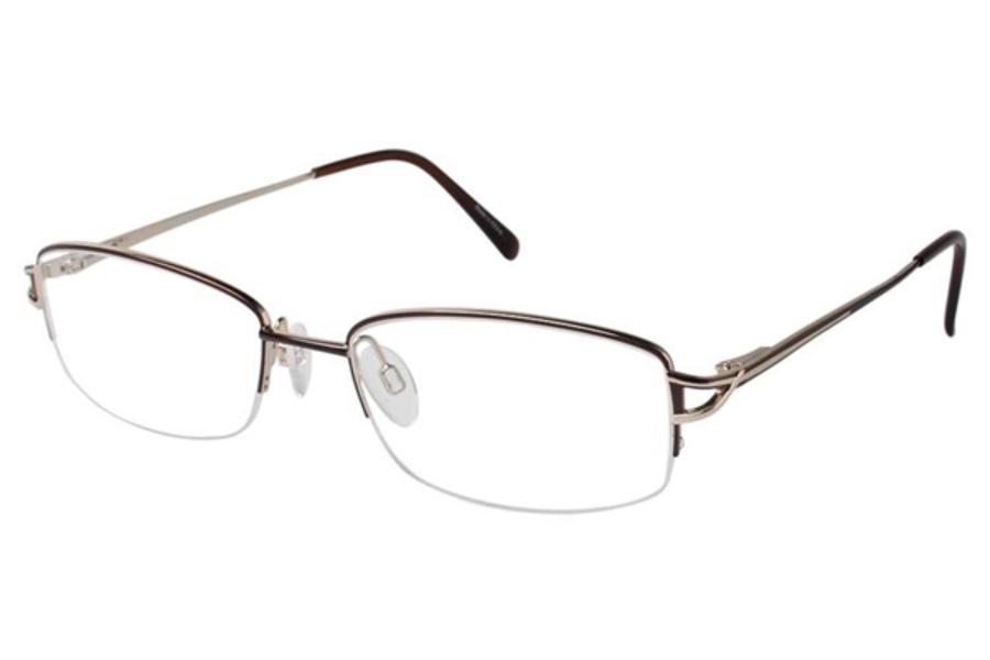 aristar ar 16350 eyeglasses go optic