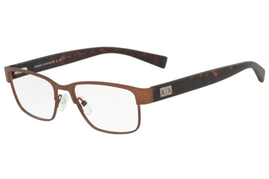 Eyeglass Frames Armani Exchange : Armani Exchange AX1020 Eyeglasses FREE Shipping