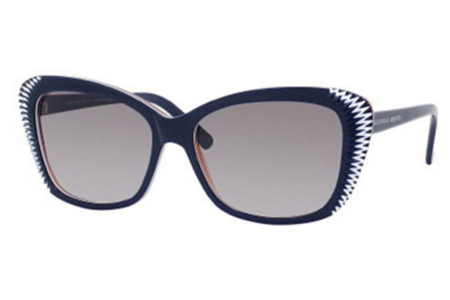 Alexander McQueen 4178/S Sunglasses in 0W0A Blue White Orange
